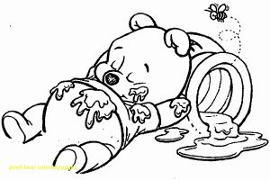 Build A Bear Coloring Pages - Pooh Bear Christmas Coloring Pages Baby Winnie the Pooh Christmas Coloring Pages 14s