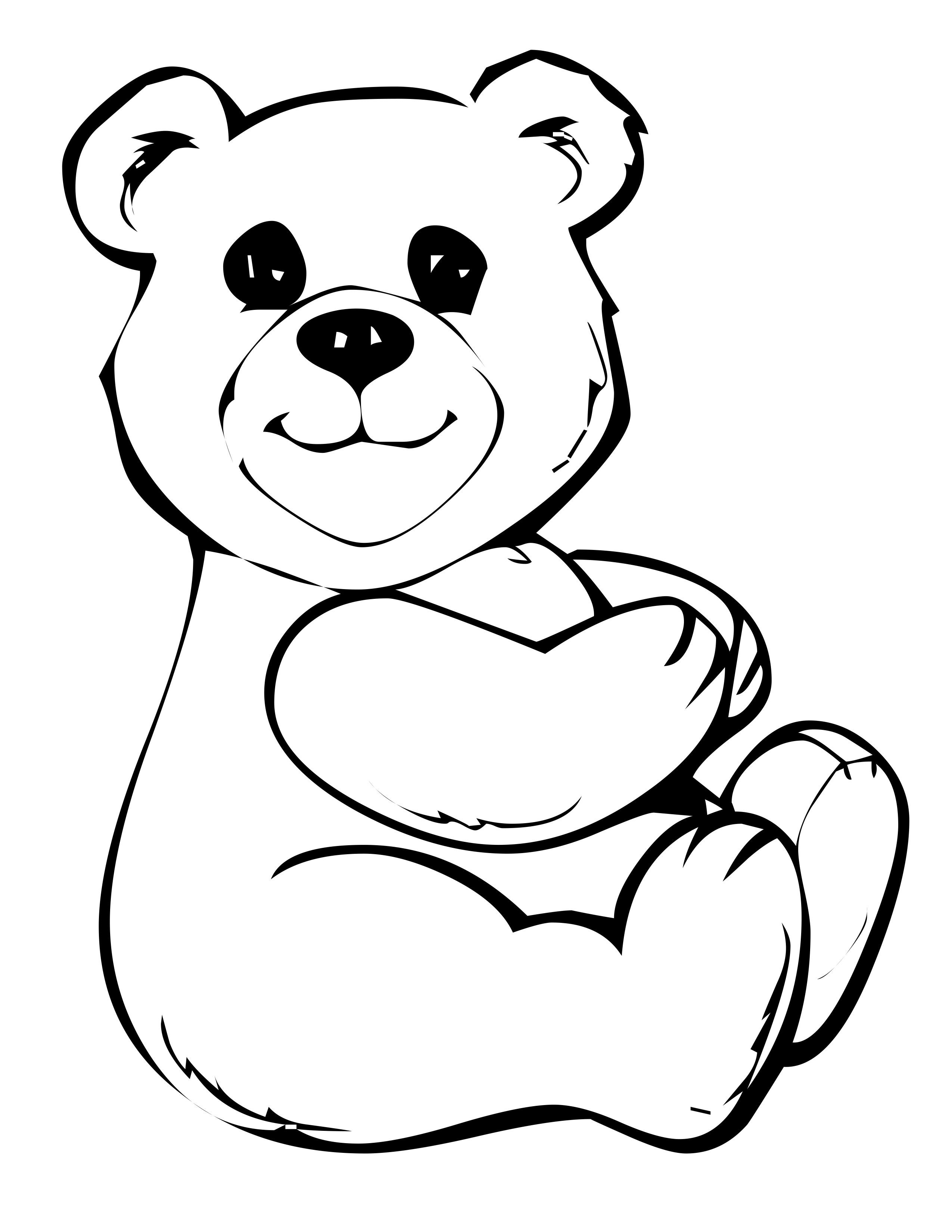 build a bear coloring pages Collection-Study Free Printable Teddy Bear Coloring Pages For Kids 17-c