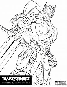 Bumblebee Transformer Coloring Pages Printable - 40 Ausmalbilder Transformers Optimus Prime Scoredatscore 4q