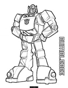 Bumblebee Transformer Coloring Pages Printable - Transformer Coloring Pages Yellow Transformer Bumblebee Coloring Page Printable for Boys 10g 7b