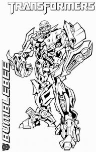 Bumblebee Transformer Coloring Pages Printable - Transformers Coloring Pages Bumblebee Best Ausmalbilder Transformers Optimus Prime 7g