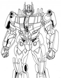 Bumblebee Transformer Coloring Pages Printable - Optimus Prime Coloring Pages for Kids Enjoy Coloring 12m