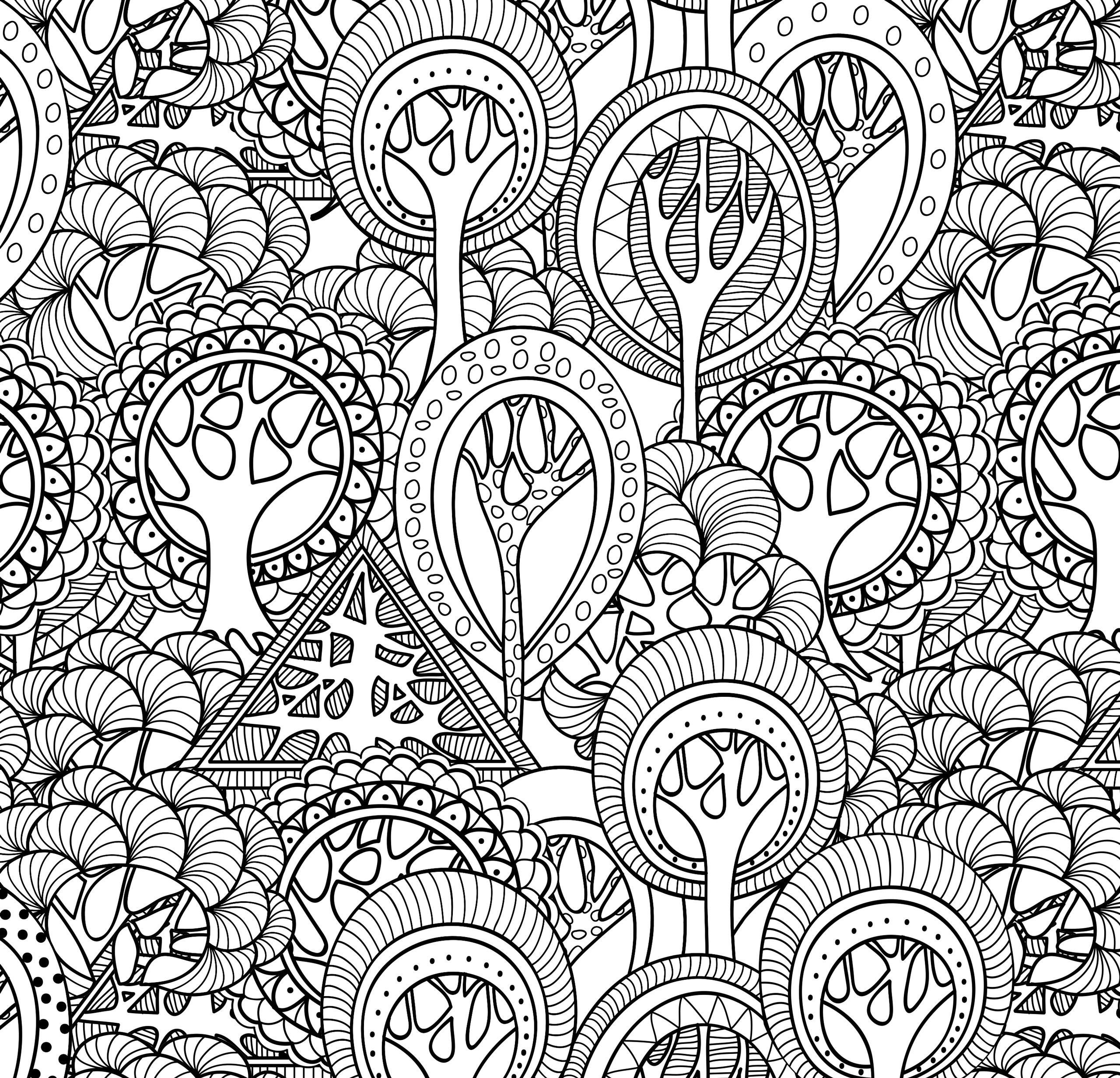 25 Calm the F Down Coloring Book Pages Collection ...