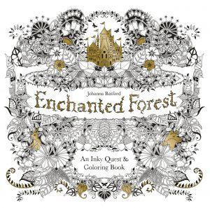 Calm the F Down Coloring Book Pages - Enchanted forest An Inky Quest & Coloring Book 3k