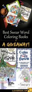 Calm the F Down Coloring Book Pages - Best Swear Word Coloring Books A Giveaway Cleverpedia 13b