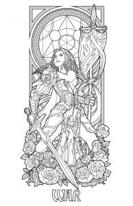 Calm the F Down Coloring Book Pages - Lines for My Future Work the Second Apocalyptic Horseman War Pestilence Can Be Checked Here [link] Hope You Enjoy My Stuff and Want Me to Plete T 16j