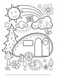 Camping Coloring Pages to Print - Cool Color Page Free Coloring Pages Thaneeya 12r