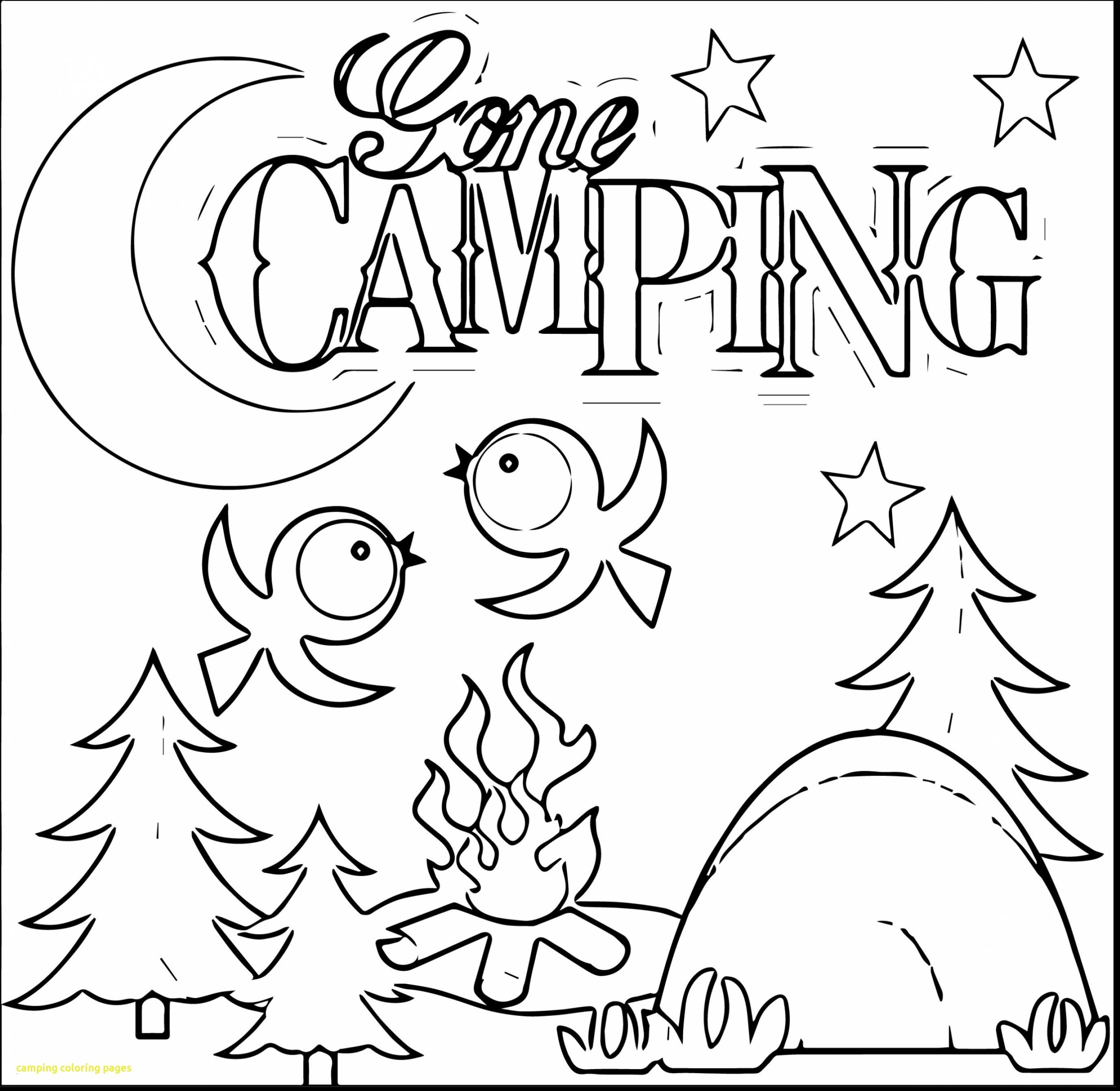 camping coloring pages to print Collection-Zoey 101 Coloring Pages Camping Coloring Pages Printable 21csb 1-n