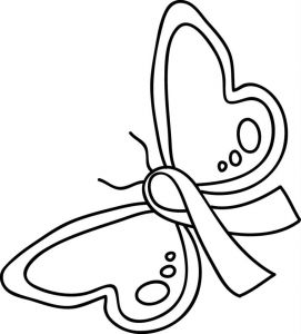 Cancer Awareness Coloring Pages - Ribbon Coloring Pages Printable with for Breast Cancer Awareness 17o