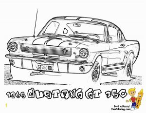 Car Printable Coloring Pages - 1965 Shelby Mustang Gt 350 Cars Printable Coloring Picture at Yescoloring 9o