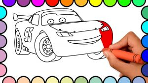 Cars Movie Coloring Pages - How to Draw Lightning Mcqueen Cars Cars 2 Cartoon Coloring Pages for Kids Coloring Book for Baby 14g