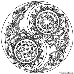 Celtic Mandalas Coloring Pages - Yin Yang Coloring Page by Welshpixie On Deviantart 2r