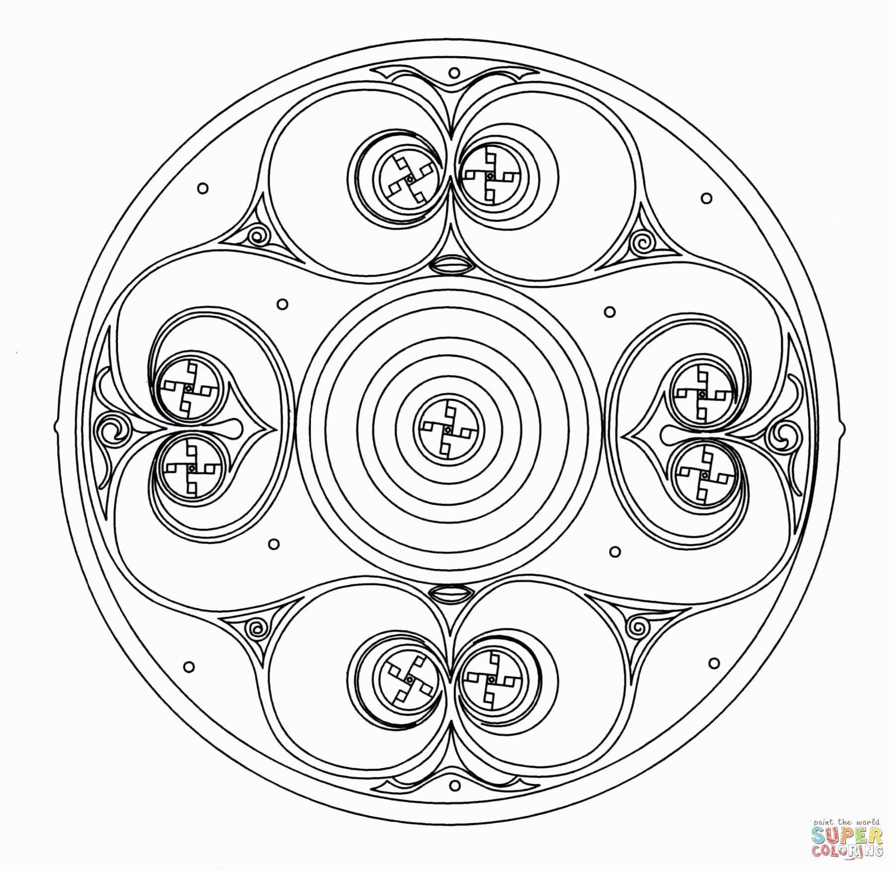 celtic mandalas coloring pages Download-Coloring Books for Grown Ups Celtic Mandala Coloring Pages Free Printable Mandala Coloring Pages Luxury Printable Celtic 9-r