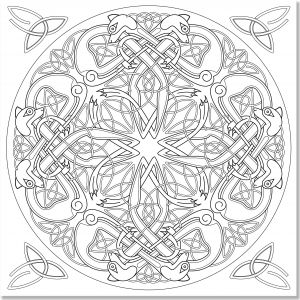 Celtic Mandalas Coloring Pages - Coloring Books for Grown Ups Celtic Mandala Coloring Pages 10j