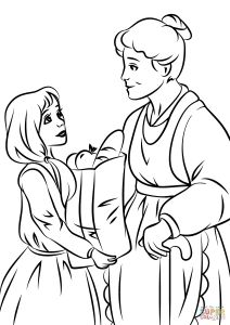 Children Helping Others Coloring Pages - Coloring Helping Others Coloring 2p