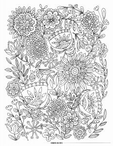 Children's Christian Coloring Pages Free - Free Coloring Pages Printables Coloring Pages for Adults Abstract Flowers 14g
