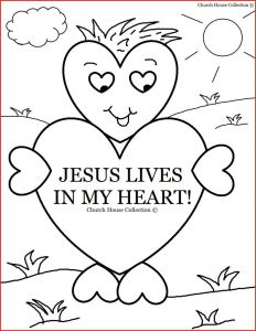 Christian Coloring Pages Printable Free - Jesus Coloring Pages for Kids Printable Printable Bible Coloring Pages Creation with Fresh Days Cartoon Od 8j