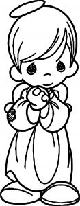 Christmas Angel Coloring Pages - Easy Printable Angels Free Christmas Coloring Pages 13i