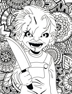 Circus Coloring Pages - Clown Coloring Pages for Adults 15s