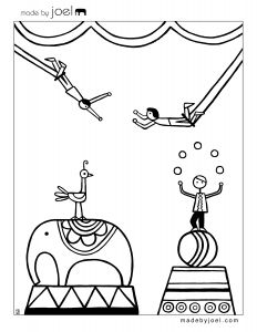 Circus Coloring Pages - Awesome Made by Joel New Circus Coloring Sheets 9o