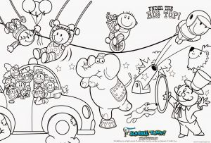 Circus Coloring Pages - Circus Train Coloring Pages Inspirational Circus Coloring Pages 10i