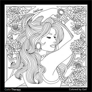 Color therapy Coloring Pages - I Colored This Myself Using Color therapy App It Was so Fun and Relaxing 14h