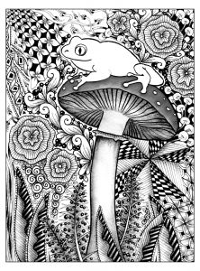 Colorama Coloring Pages to Print - to Print This Free Coloring Page Coloring forest Frog Click On the Printer Icon at the Right 1r