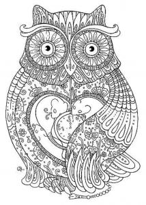 Colorama Coloring Pages to Print - Owl Coloring Pages for Adults Printable Kids Colouring Pages 4s