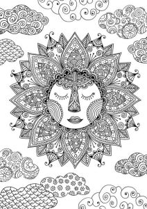 Colorama Coloring Pages to Print - Sun Coloring Page by Felicity French 4b