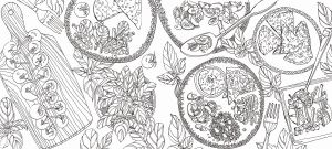 Coloring Book Pages Online - Advanced Mandala Coloring Pages Line 1g