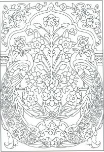 Coloring Book Pages to Print - Stained Glass Coloring Book Best Advanced Peacock Coloring Pages New Printable Cds 0d – Fun Time 16a