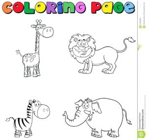 Coloring Pages 101 - 51 Beautiful Jungle Animals Coloring Pages 1o