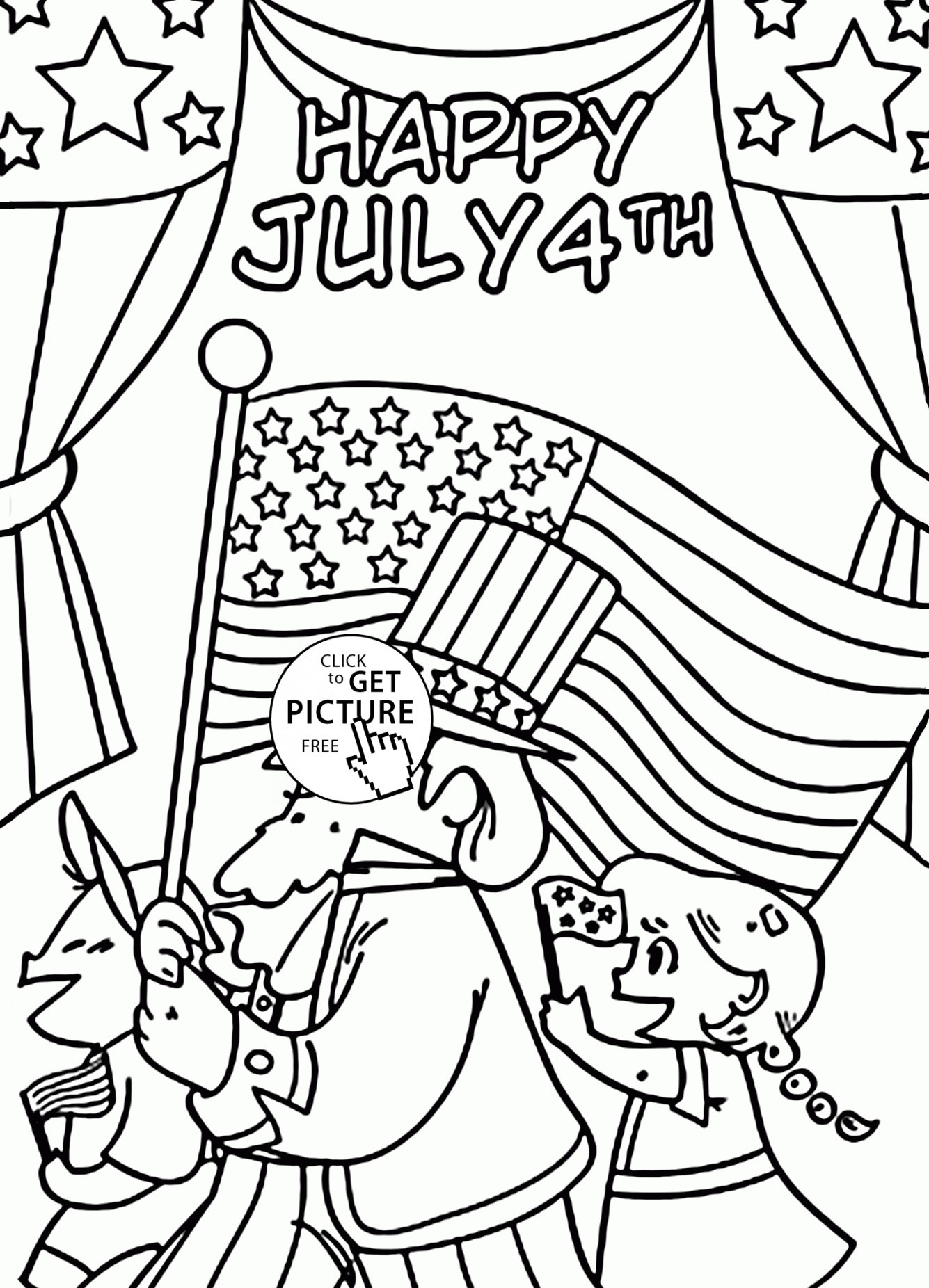 coloring pages 4th of july printable Collection-Free Printable 4th July Coloring Pages Independence Day Coloring Pages Printable New Preschool Printable 16-m