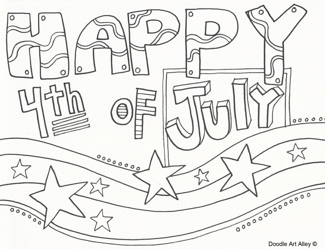 coloring pages 4th of july printable Collection-A coloring page that says 20-d
