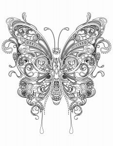 Coloring Pages butterfly - A butterfly Coloring Page Fresh Colors butterfly Inspirational butterflies Color Pages Beautiful A butterfly Coloring 10s