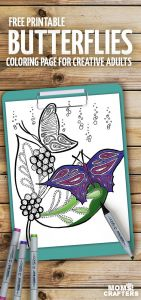 Coloring Pages butterfly - Print these Beautiful butterflies Coloring Pages for Adults these Stunning Spring and Summer Coloring Pages are totally Relaxing and Colour therapy 3i