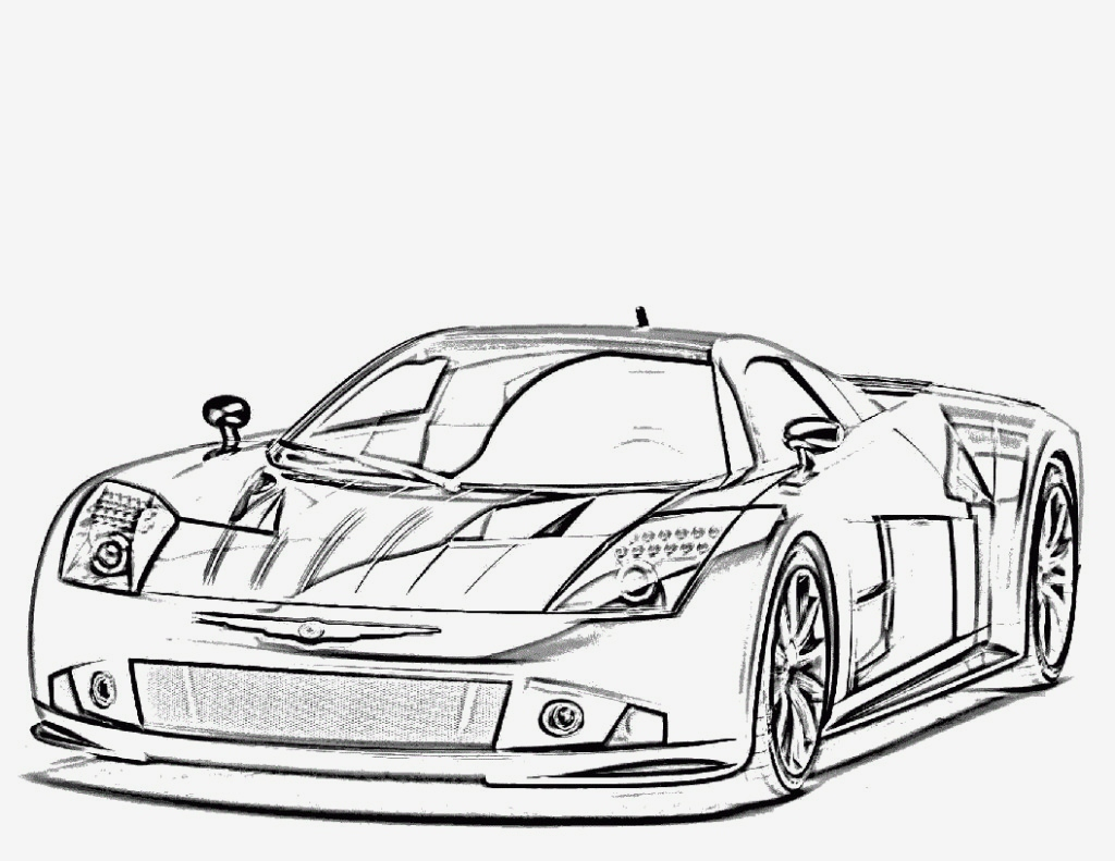 coloring pages cars 16g