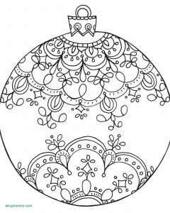 Coloring Pages Christmas ornaments - Christmas Decorations Free New Printable Coloring Pages Christmas ornaments 5n