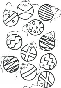 Coloring Pages Christmas ornaments - ornament Coloring Sheets Free Printing Pages for Preschoolers Printable Christmas ornaments Tree Colo 11i