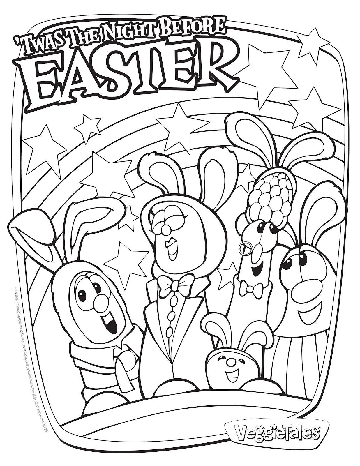 29 Coloring Pages Easter Religious Collection - Coloring Sheets