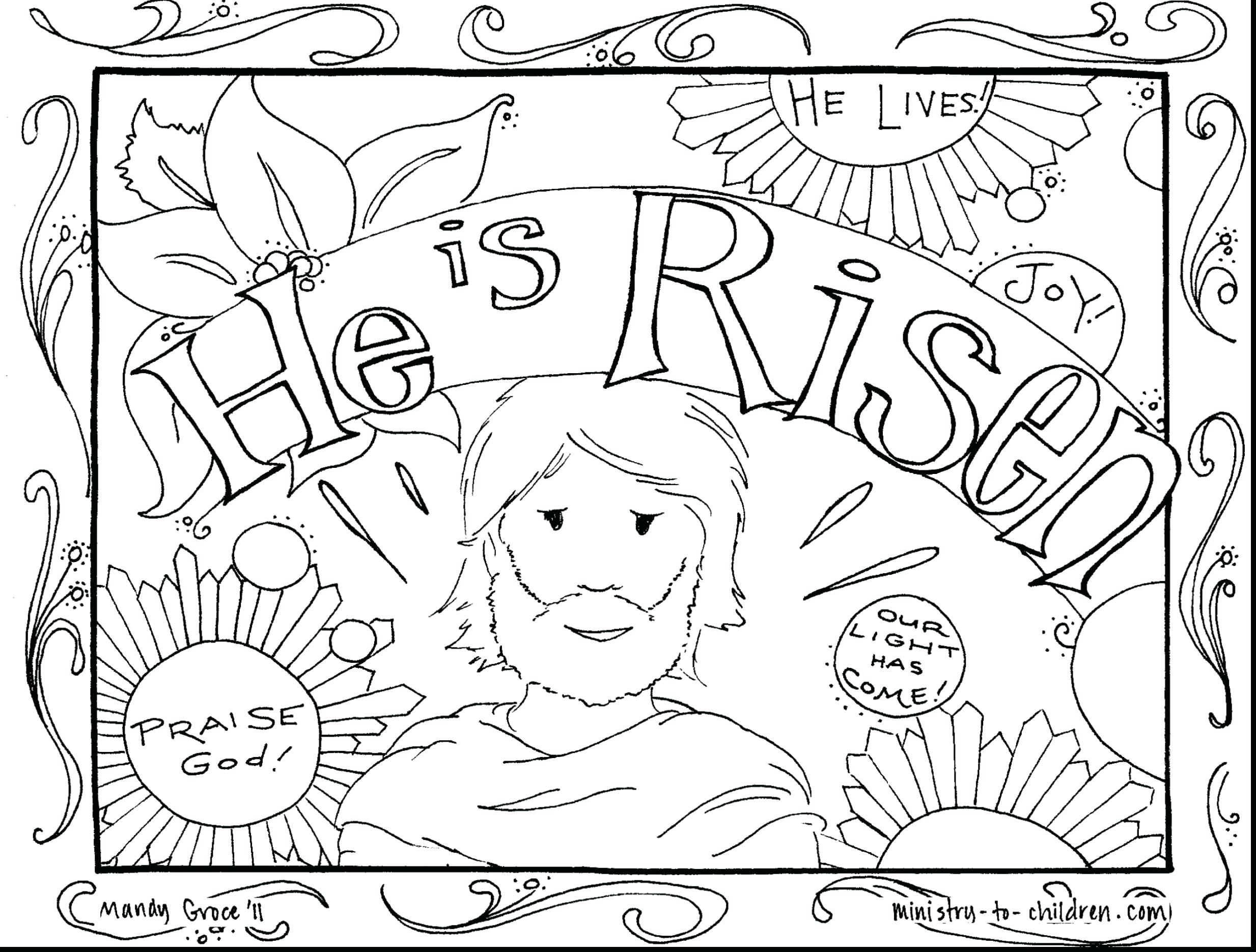 coloring pages easter religious Download-Religious Easter Coloring Pages for Adults Coloring Pages Religious Good Freer Preschoolers Bible toddlers 4-r