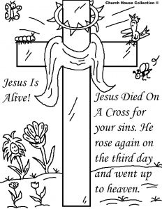 Coloring Pages Easter Religious - Jesus is Risen Coloring Pages 16 Q 25 Religious Easter Coloring Pages 3r