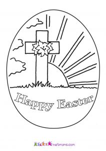 Coloring Pages Easter Religious - Religious Easter Coloring Pages for Preschoolers Pascua Childrens Christian 16f