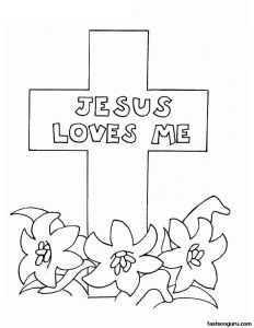 Coloring Pages Easter Religious - Easter Coloring Pages Religious 20 Q Christian Easter Printable Sheets Worksheets for All 1c