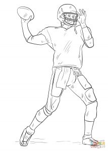 Coloring Pages Football - Football Coloring Pages Coloring Book 5f