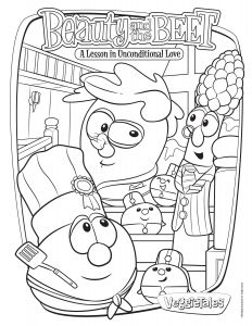 Coloring Pages for Bible Lessons - 0d Free Veggie Tales Coloring Pages Inspirational Coloring Pages for Bible Lessons Verikira 8d
