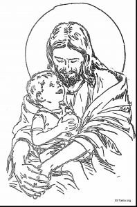 Coloring Pages for Children Church - Excellent Jesus with Child Coloring Page with Jesus Coloring Page and Jesus Coloring Pages for Adults 19g