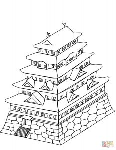 Coloring Pages for Older Kids - the Japanese Castle Coloring Pages to View Printable Version or Color It Online Patible with Ipad and android Tablets 8r