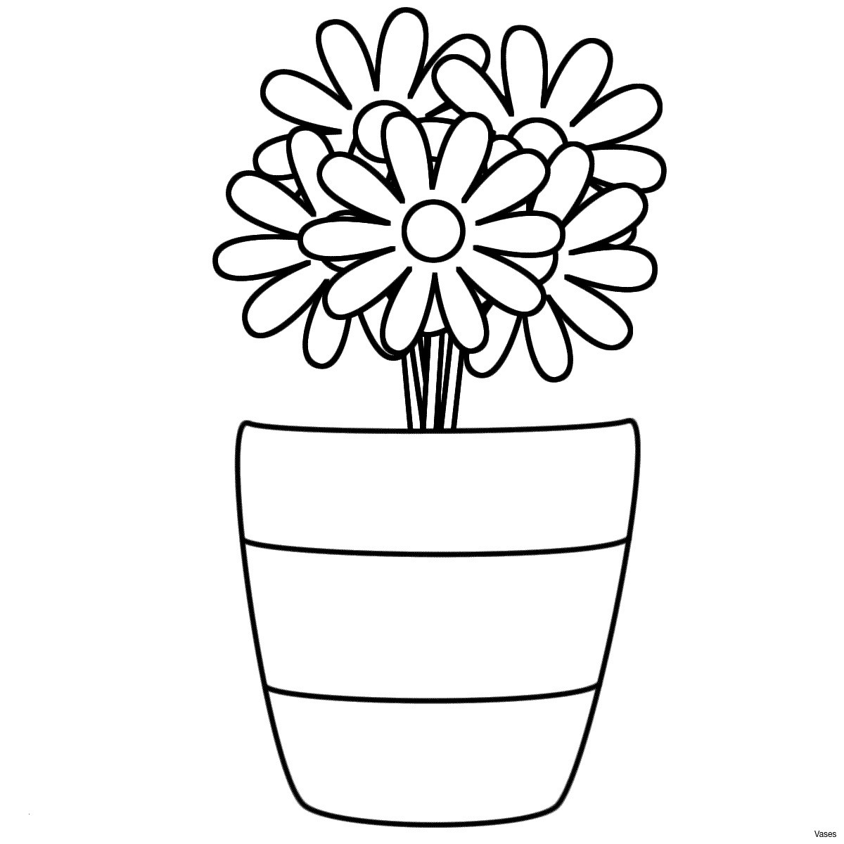 coloring pages hawaiian flowers Collection-Flower Coloring Sheets for Adults Fabulous Cool Vases Flower Vase 18-i