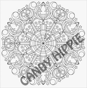 Coloring Pages Mandala - Download Halloween Mandala Coloring Pages Heathermarxgallery 10g